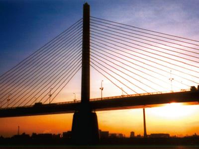 首都高速 かつしかハープ橋